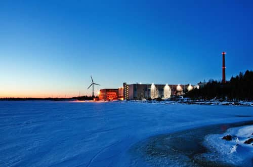 google data center hamina finlande europe