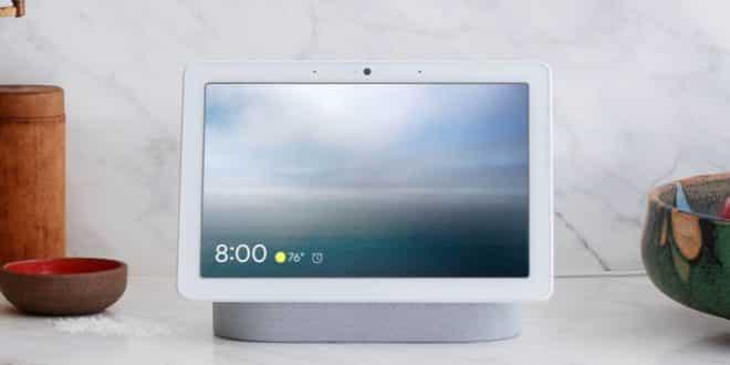 google nest hub max face match