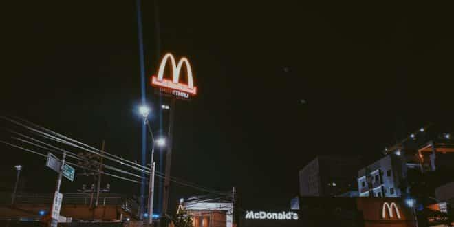 mcdonald's ia drive