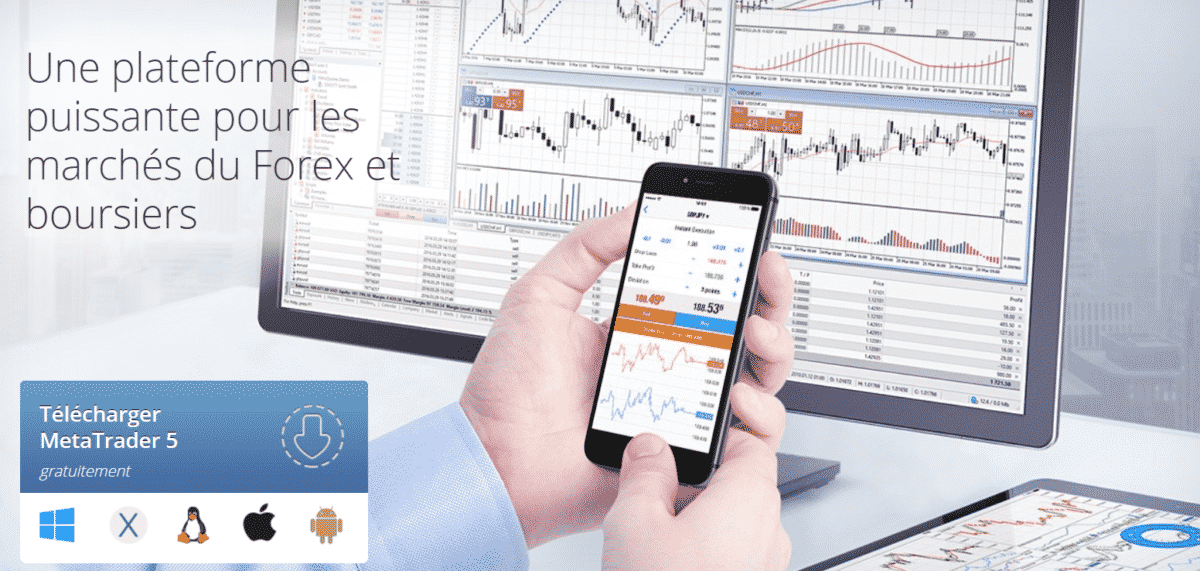 interface de Metatrader 5