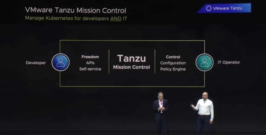 vmware tanzu mission control