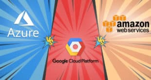cloud aws google microsoft