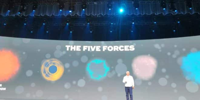 teradata five forces hyper disruption