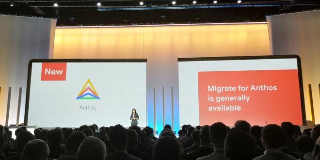 google cloud migrate anthos