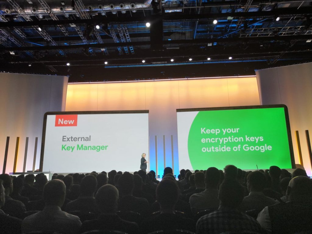 google cloud key manager