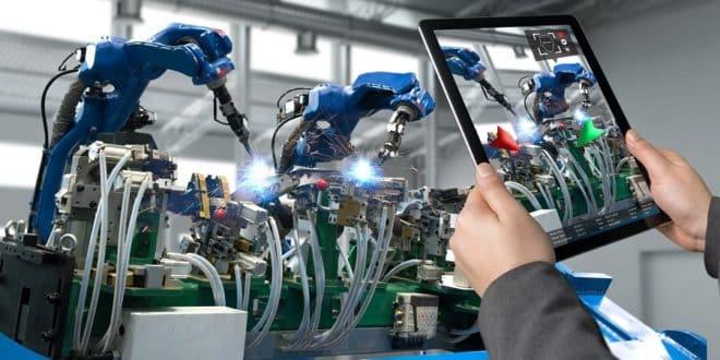 réalité augmenté et industrie vuforia