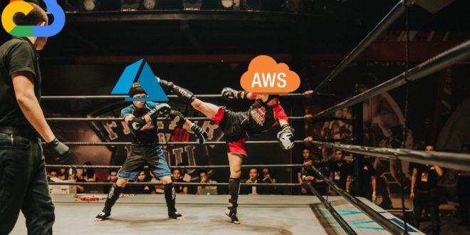 cloud 2019 aws microsoft google