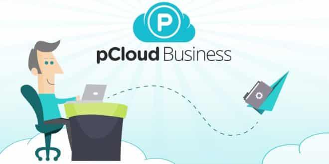 illustration de l'offre pCloud Business