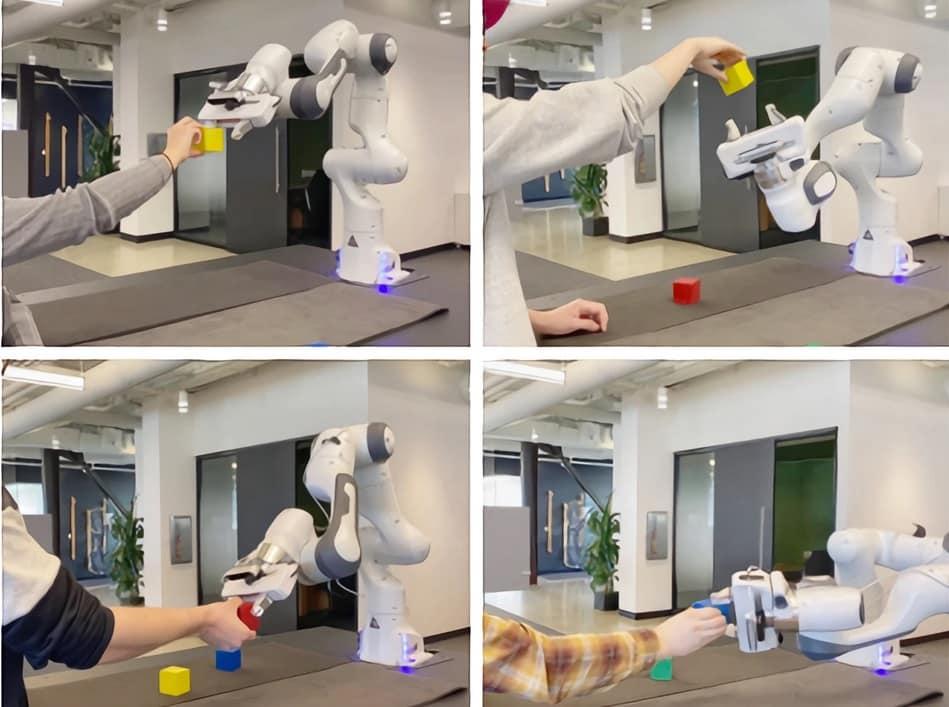 main robot ia nvidia