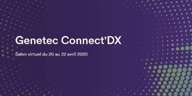 genetec salon virtuel connect'dx