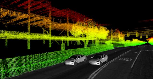 ford données véhicules autonomes
