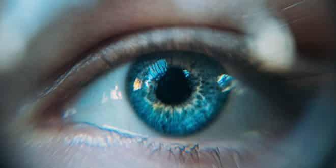 yeux écrans, lumière bleue