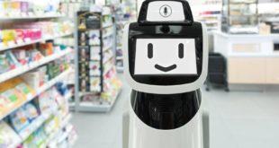 smart retail robot