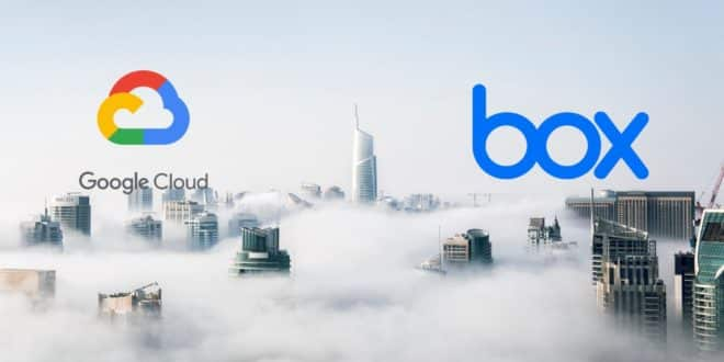google cloud box contrat