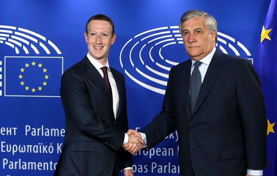 mark zuckerberg politique