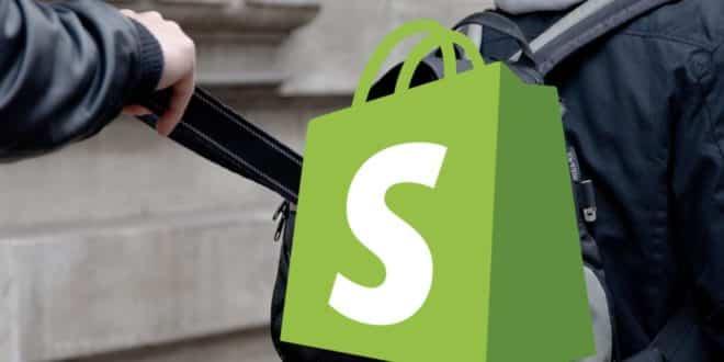 shopify vol données