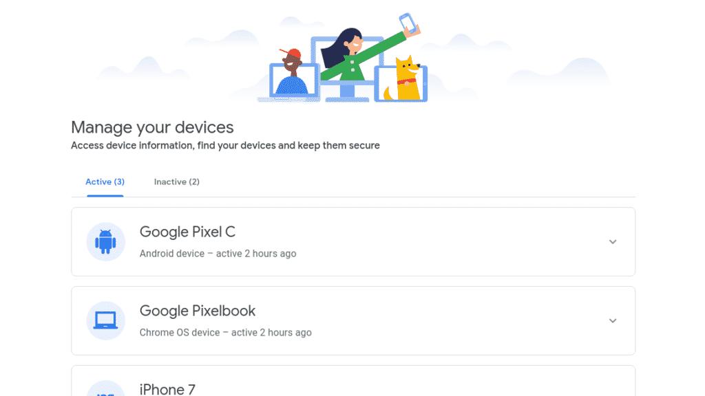 google appareils
