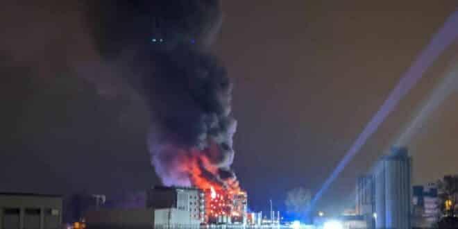incendie OVH