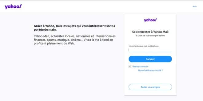 yahoo mail id