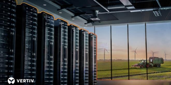 vertiv régionalisation data centers
