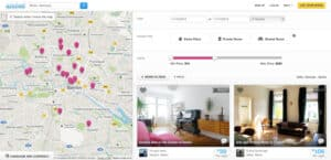 airbnb localisation