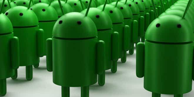 smartphones android données