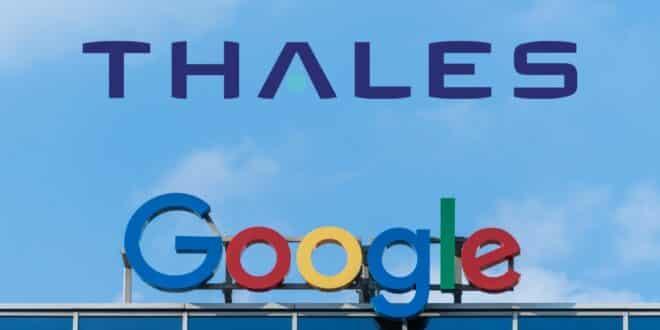 thalès google cloud souverain